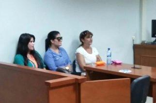 Hermanas Mahuad a juicio tras negarse a firmar acuerdo con la Fiscalía