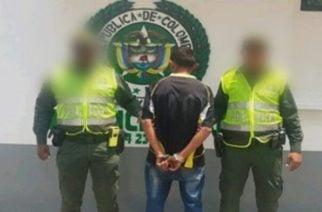 Capturan en flagrancia a un hombre con 36 dosis de base de coca en Montería