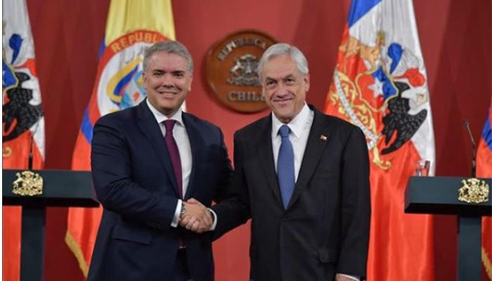 Lanzamiento de PROSUR, asunto clave en la visita de Duque a Chile