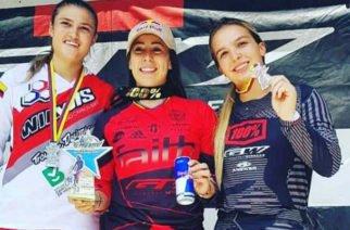 Mariana Pajón ganó oro en la Copa Nacional de BMX