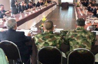 ¿Ironía? Mientras se daba un 'megarobo' en Montería el Alcalde se reunía con el Ministro de Defensa para reforzar seguridad en la ciudad