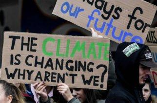 Miles de jóvenes de distintos continentes marchan contra el cambio climático