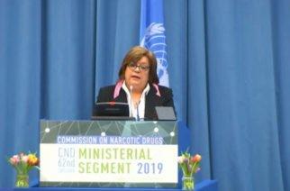 Ministra de Justicia presentará en Comisión de Estupefacientes de Viena el programa 'Ruta Futuro'
