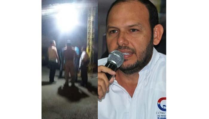 Presidente del Concejo de Montería a punto de atropellar a un joven mientras conducía presuntamente ebrio