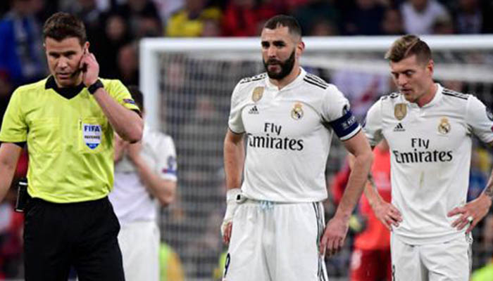 Real Madrid quedó fuera de la Liga de Campeones