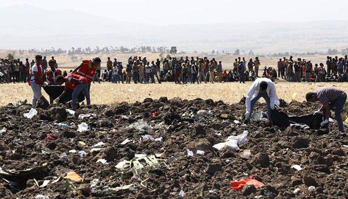 En fotos: Se desplomó avión en Etiopía y murieron los 157 a bordo