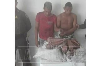 Se los cogieron robando cables en Sahagún y comunidad los entregó a la Policía