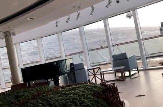 Video: Momentos de terror se vivieron en crucero Viking Sky tras averiarse en Noruega