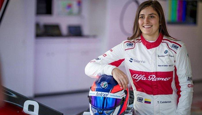 Tatiana Calderón aspira hacer una escuela de pilotaje femenino
