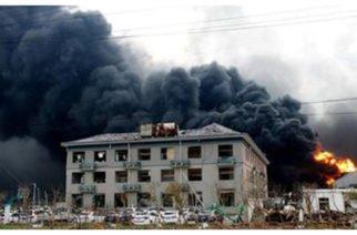 Van 47 muertos y 640 heridos tras incendio en planta química en China