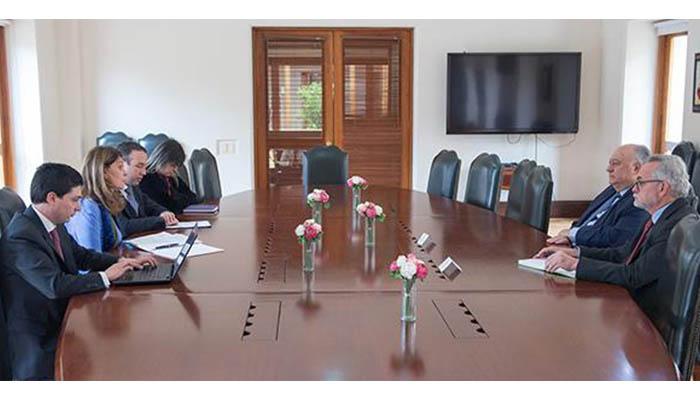 Vicepresidenta se reunió con el embajador de Venezuela en Colombia