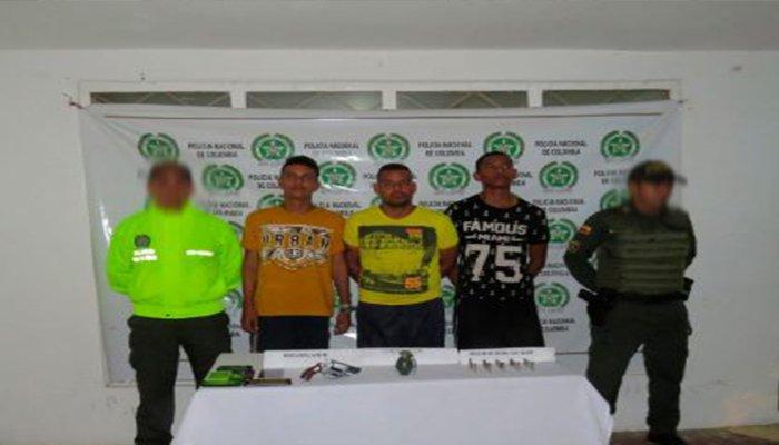 A prisión seis integrantes de 'Los Caparrapos' capturados en Montelíbano