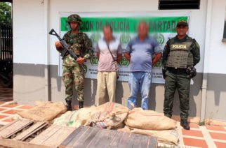 Capturados en La Apartada por transportar de forma ilícita 800 babillas en cajas de Madera