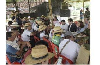 Se inician oficialmente los diálogos entre el Gobierno y representantes de la Minga Indígena en el Cauca