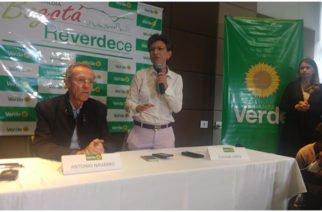 ¡Oficial! Claudia López es la candidata verde a la Alcaldía de Bogotá