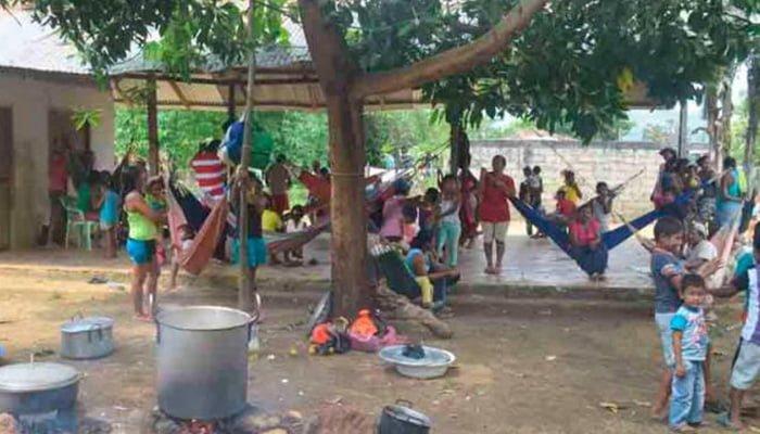 Se genera en Tierralta nuevo desplazamiento masivo de personas
