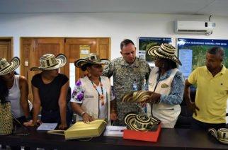 Armada realizó reunión con la comunidad indígena Isla Gallinazo en Coveñas