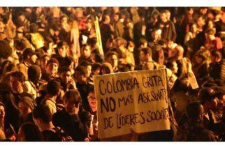 Aumenta violencia contra defensores de Derechos Humanos en Colombia