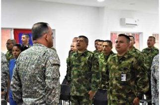 Curso de Alta Jerarquía para suboficiales visitó la Base de Entrenamiento de I.M. en Coveñas