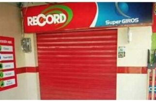 En Tierralta todas las oficinas de Record cerraron por presuntas amenazas