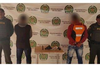 En Valencia capturan a dos hombres por porte ilegal de arma de fuego