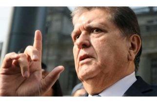 Expresidente de Perú atenta contra su vida en el momento de su captura
