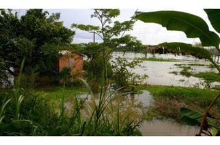 Fuertes lluvias inundaron veredas en el Urabá antioqueño