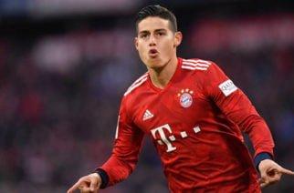 James fue nombrado el mejor jugador del marzo en el Bayern Múnich