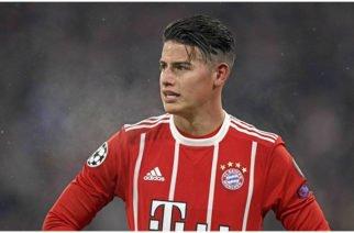 James se vuelve a lesionar en los entrenamientos del Bayern