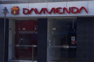 Ladrón se salió con las suyas y atracó el banco Davivienda en Cereté