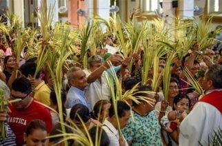 Domingo de Ramos: Creyentes rememoran hoy la entrada de Jesucristo a Jerusalén