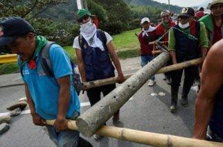 Mingueros del Cauca desbloquearán la vía tras acordar con el Gobierno la entrega del 17.5% de lo que exigían