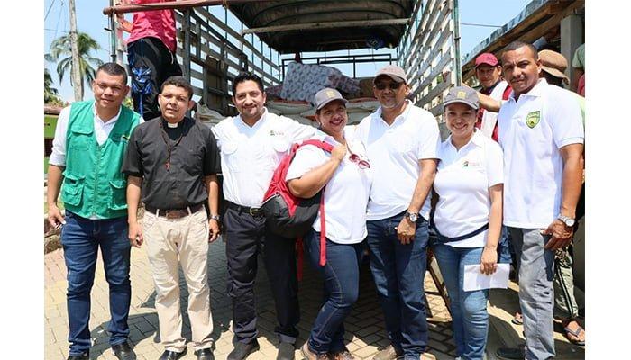 Por grave situación de desplazados en Puerto Libertador, Cerro Matoso lanza campaña de donación