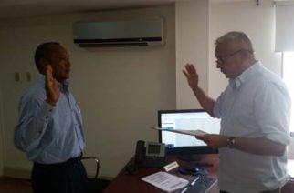 Acaba de posesionarse el nuevo Contralor provincial de Córdoba para vigilancia y control del Sistema General de Regalías