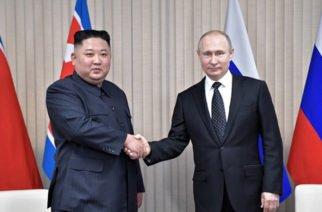 Putin está dispuesto a cooperar para reducir tensión entre Corea del Norte y  Corea del Sur