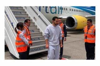 Tras su llegada a Bogotá Leonardo Pinilla debe responder ante Fiscalía por presunto soborno a Alejandro Lyons