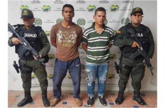 Uniformados del Gaula capturaron en Sahagún a presuntos integrantes del Clan del Golfo