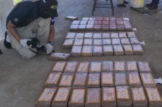 Cuatro colombianos capturados mientras transportaban 110 kilos de cocaína en Honduras