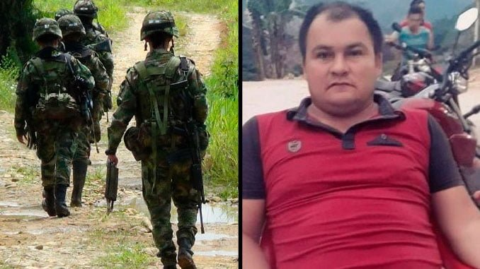 Ejército confirmó que un militar mató al excombatiente Dímar Torres