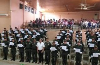 Juramentados 64 auxiliares de Policía en Sahagún