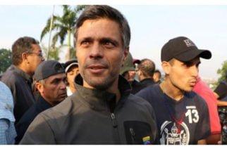 """""""Yo no he dejado de estar activo, he estado en silencio"""": Leopoldo López tras su orden de captura"""