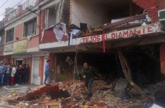 Cuatro muertos en Bogotá por explosión en vivienda
