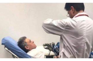 Antes de presentarlo ante un juez Santrich fue trasladado a un hospital