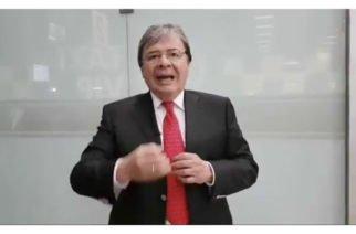 """Cancillería rectificó penosas declaraciones del embajador ante la OEA quien afirma que migración venezolana es una """"estrategia calculada"""""""