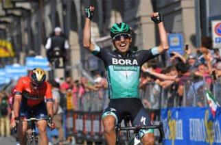 Cesare Benedetti, gana la etapa 12 del Giro de Italia