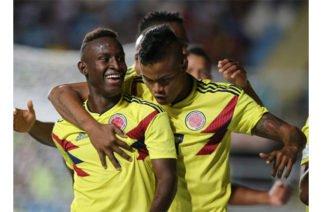 Colombia goleó 6-0 a Tahití avanzando a las octavos de final