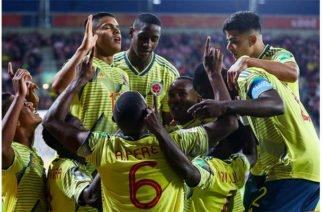 Colombia le ganó a Polonia 2-0 en la primera fecha del Mundial Sub-20