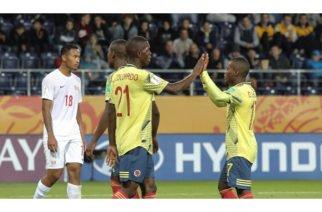 Colombia se enfrentará con Nueva Zelanda en los octavos de final de la Sub-20