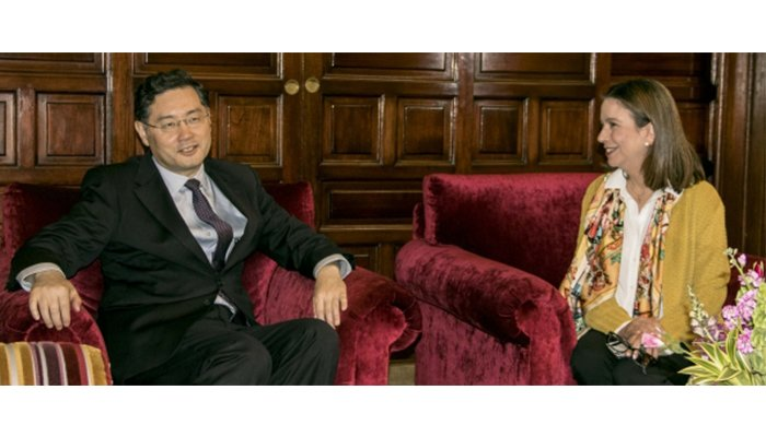 Colombia y China fortalecen relaciones bilaterales en temas comerciales y culturales