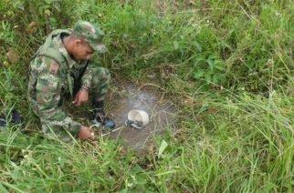 Comando Aquiles neutralizó dos minas antipersona en Puerto Libertador